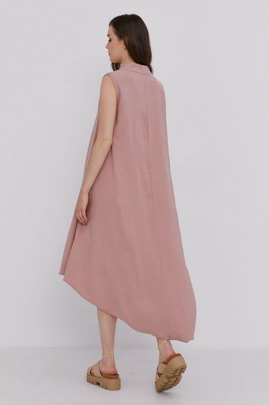 Answear Lab - Sukienka 40 % Bawełna, 60 % Wiskoza