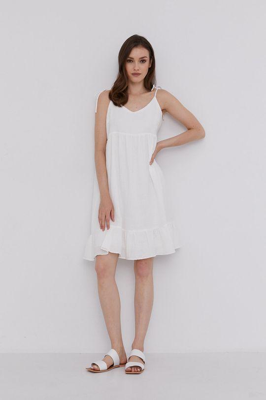 Answear Lab - Šaty biela