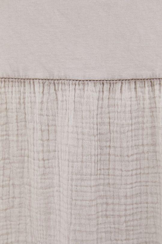 Answear Lab - Bavlněné šaty Garment Dyed Dámský