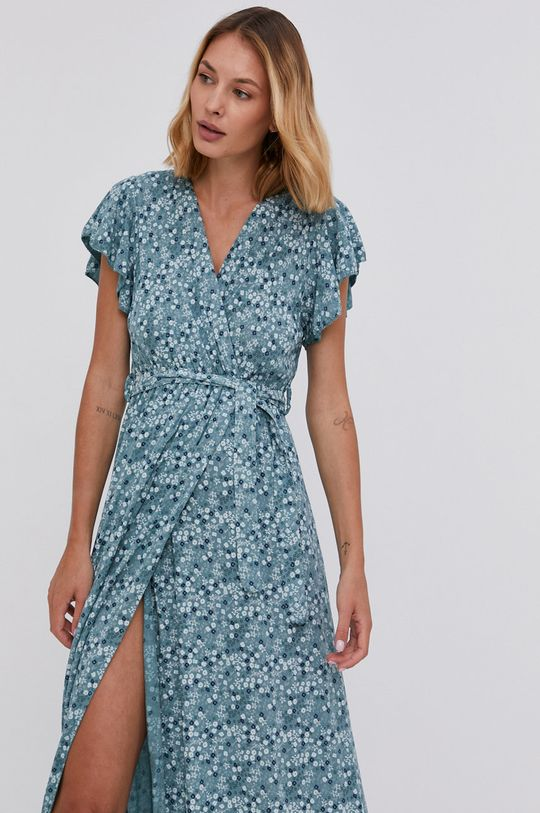 tyrkysová Answear Lab - Šaty