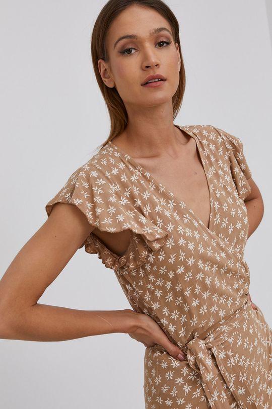 beżowy Answear Lab - Sukienka