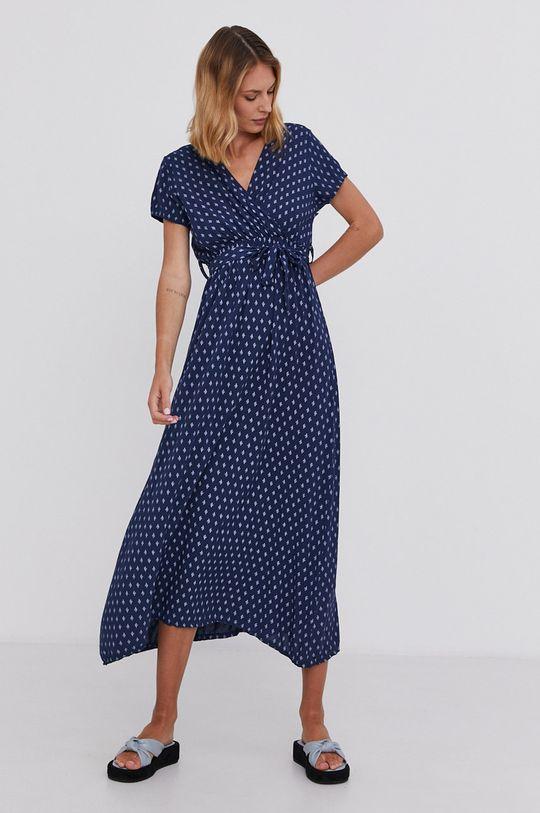Answear Lab - Šaty námořnická modř