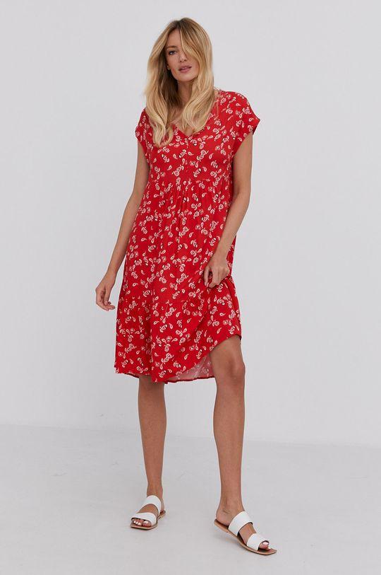 Answear Lab - Sukienka czerwony