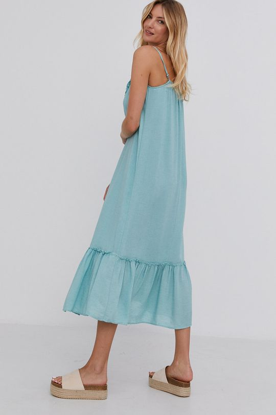 Answear Lab - Sukienka 90 % Len, 10 % Poliamid