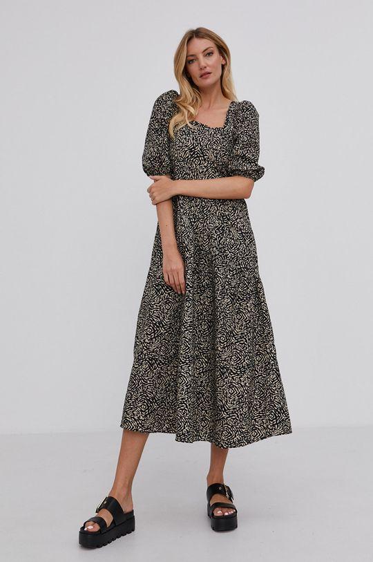 czarny Answear Lab - Sukienka