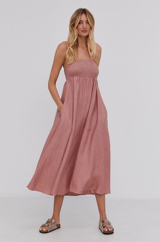 Answear Lab - Šaty růžová