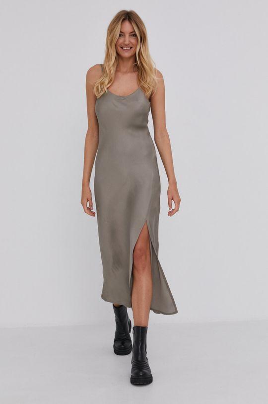 zlatá Answear Lab - Šaty