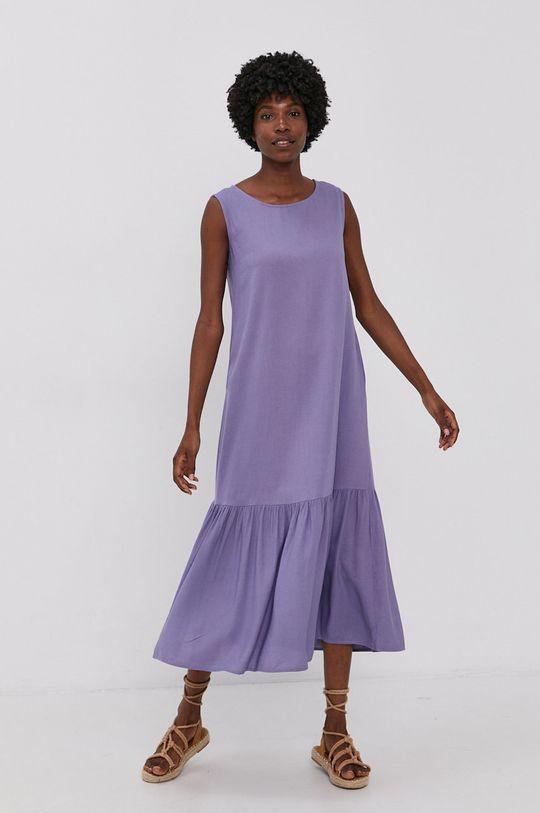 levandulová Answear Lab - Šaty