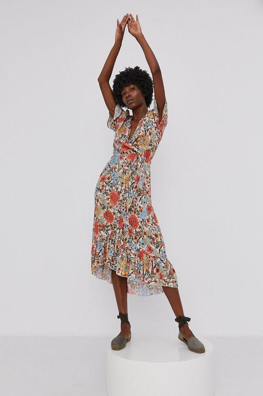 Answear Lab - Šaty vícebarevná