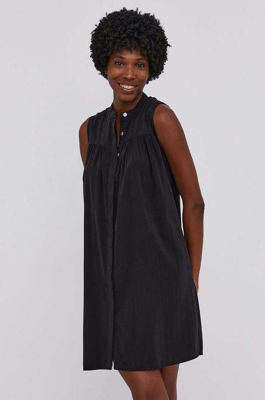 černá Answear Lab - Šaty Dámský