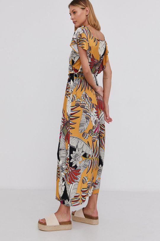 żółty Answear Lab - Sukienka
