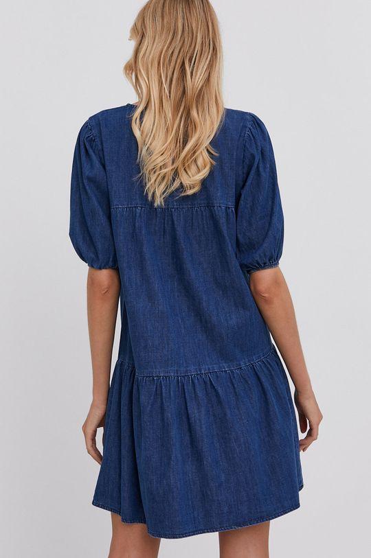 Answear Lab - Sukienka jeansowa 100 % Bawełna