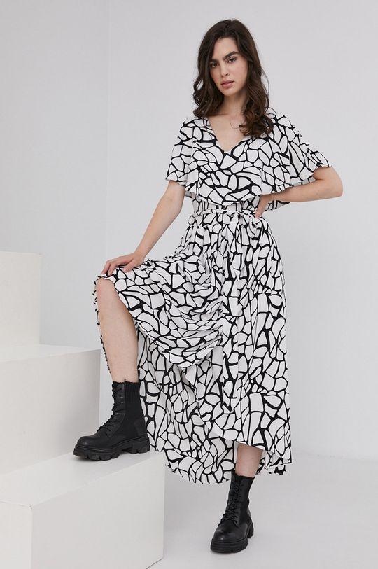 biały Answear Lab - Sukienka Damski