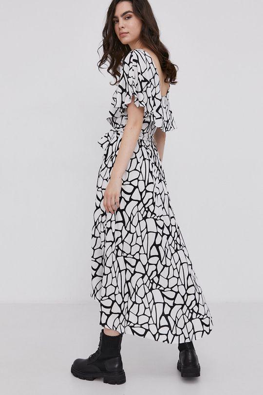 Answear Lab - Sukienka 5 % Poliester, 95 % Wiskoza