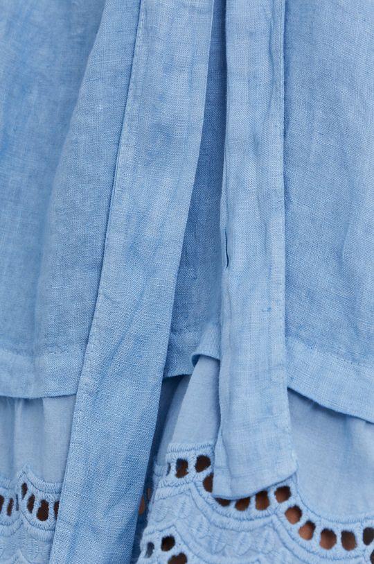 Answear Lab - Plátěné šaty Pure Linen Dámský