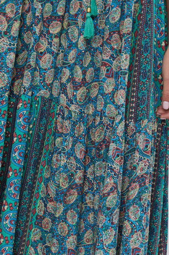 Answear Lab - Hedvábné šaty Silk Blend