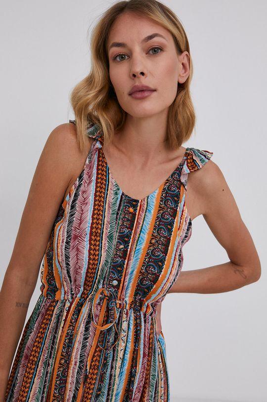 vícebarevná Answear Lab - Šaty