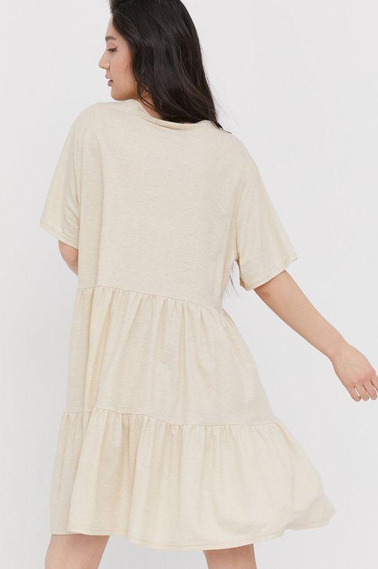 Answear Lab - Sukienka 45 % Poliamid, 55 % Wiskoza