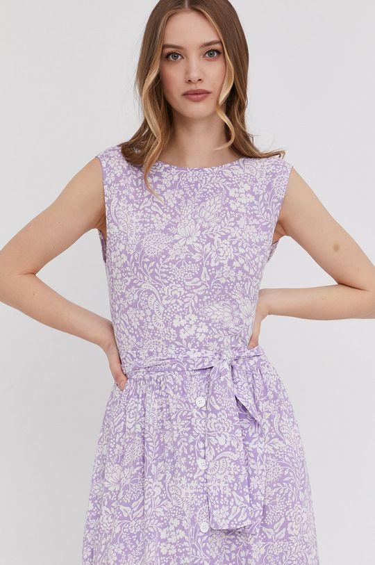 lawendowy Answear Lab - Sukienka