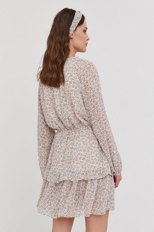 Answear Lab - Šaty s opaskom  100% Polyester