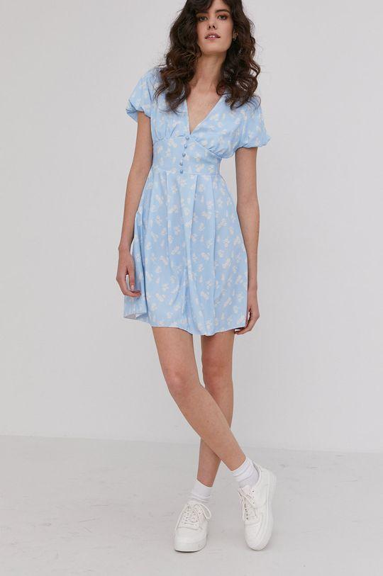 Answear Lab - Šaty modrá