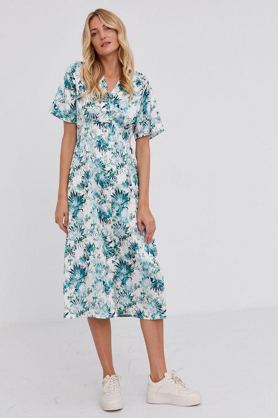 Answear Lab - Šaty viacfarebná