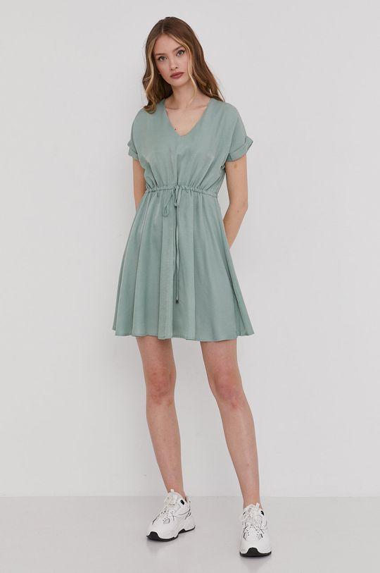 Answear Lab - Sukienka miętowy