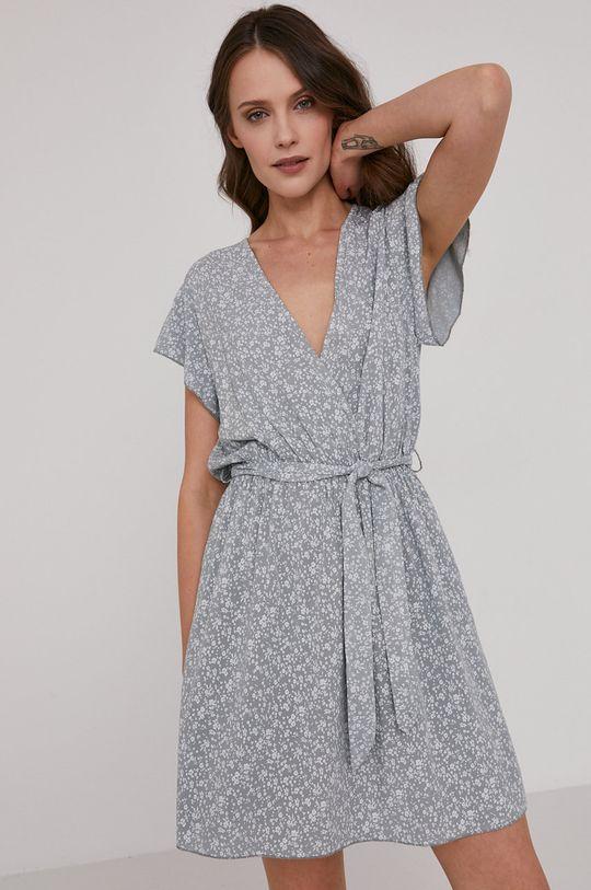 jasny szary Answear Lab - Sukienka Damski