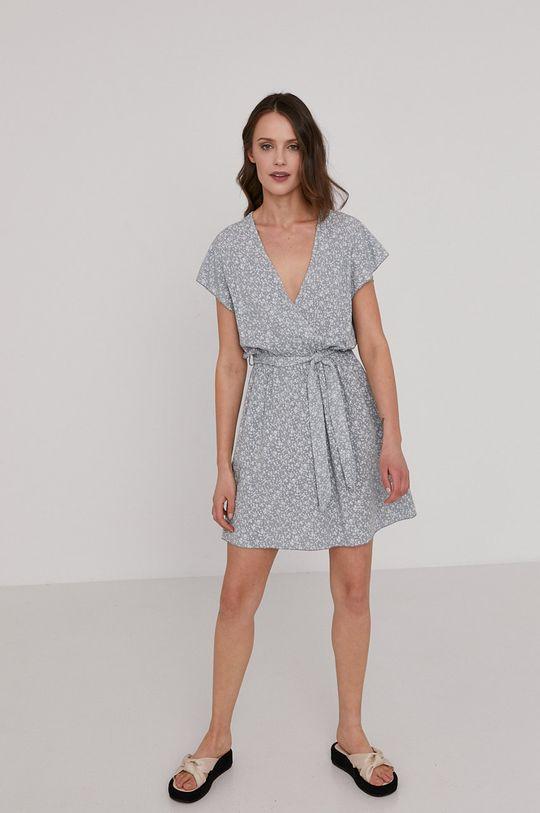 Answear Lab - Sukienka jasny szary