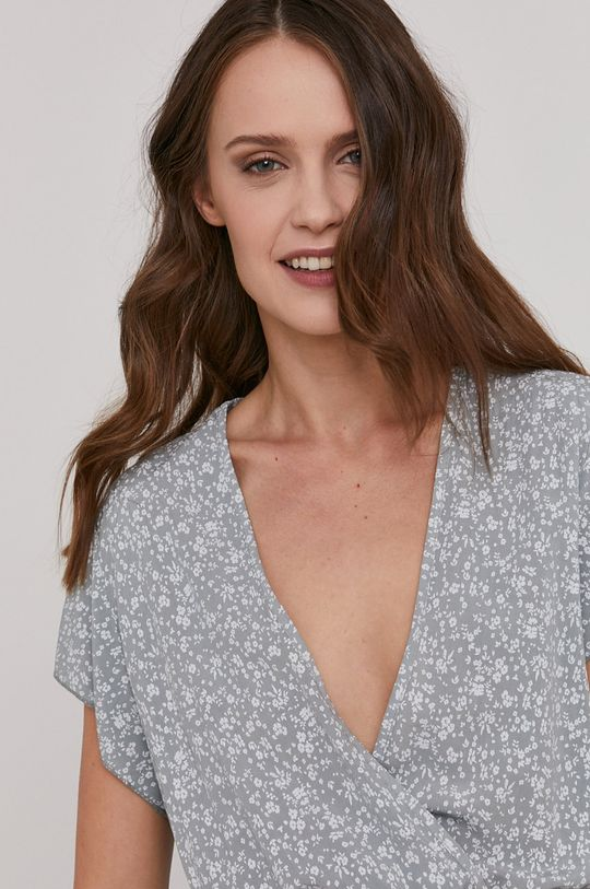 jasny szary Answear Lab - Sukienka