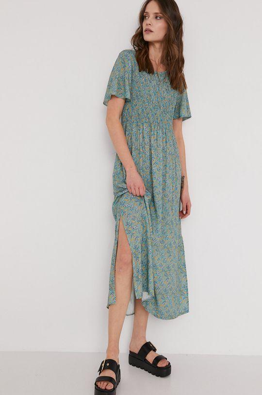 zielony Answear Lab - Sukienka Damski