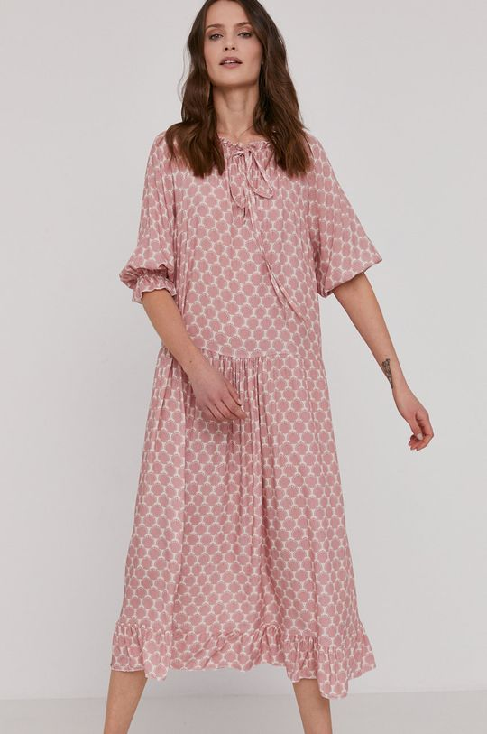Answear Lab - Šaty ružovo-červená