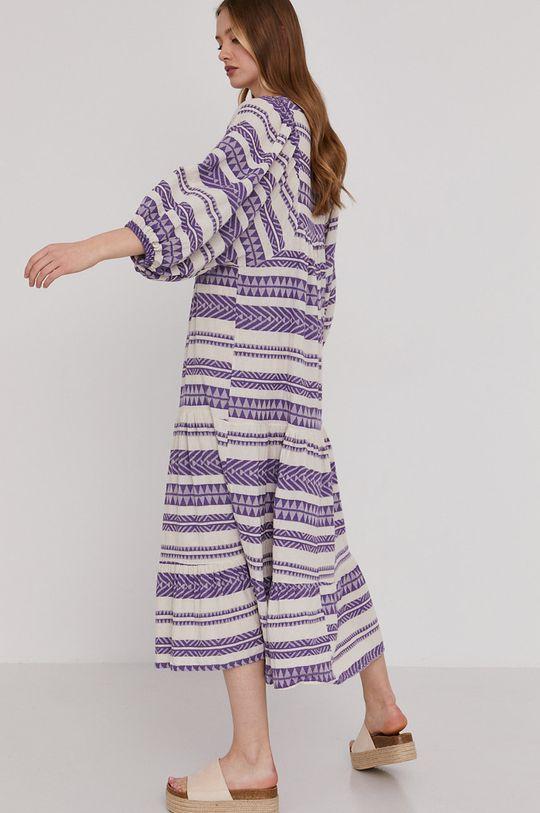 Answear Lab - Sukienka 90 % Bawełna, 10 % Poliester