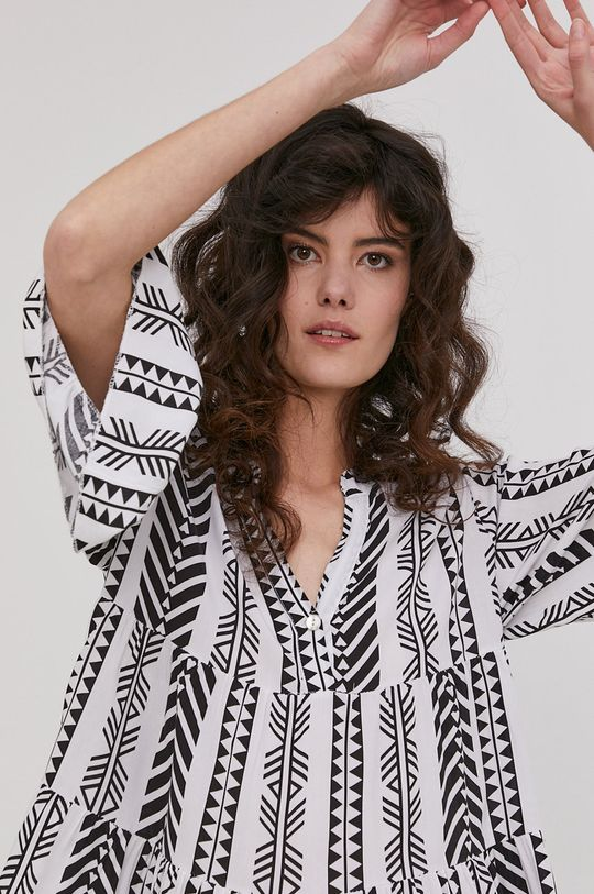 biela Answear Lab - Šaty