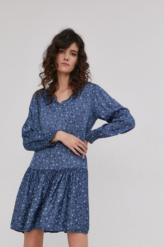 Answear Lab - Sukienka 10 % Jedwab, 90 % Wiskoza