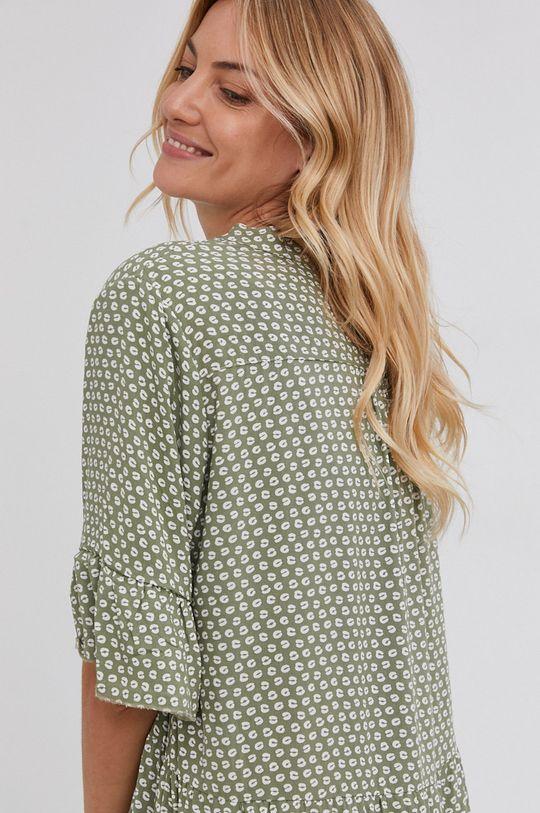 zelená Answear Lab - Šaty