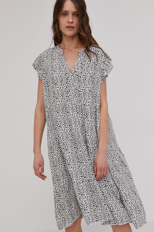 bílá Answear Lab - Šaty