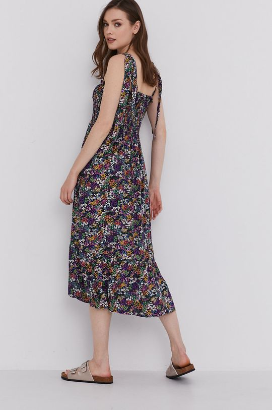 fioletowy Answear Lab - Sukienka Damski