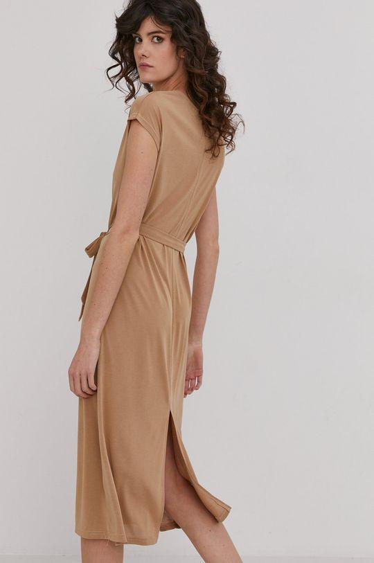 Answear Lab - Sukienka 25 % Poliester, 75 % Wiskoza