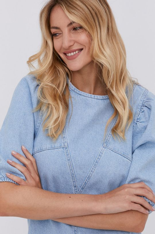 Answear Lab - Sukienka jeansowa Damski