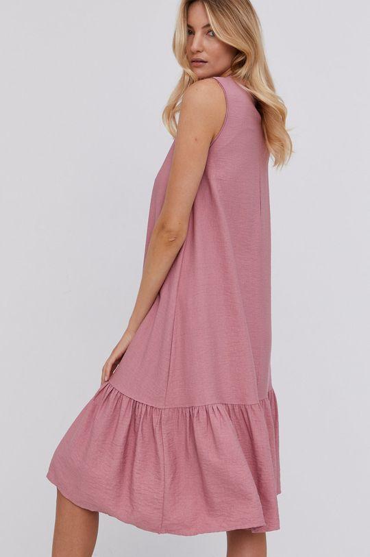 růžová Answear Lab - Šaty Dámský
