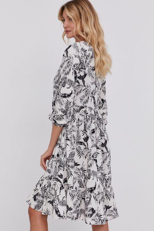 Answear Lab - Sukienka 50 % Bawełna, 50 % Len