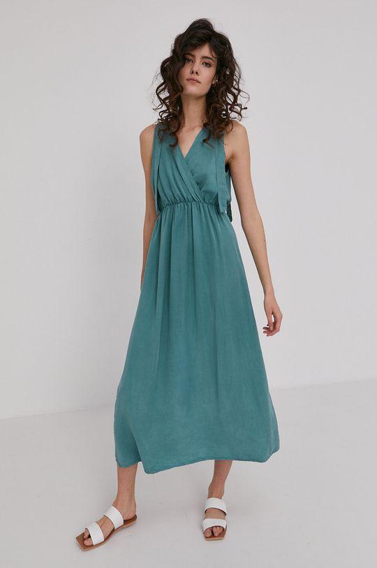 Answear Lab - Šaty zelená