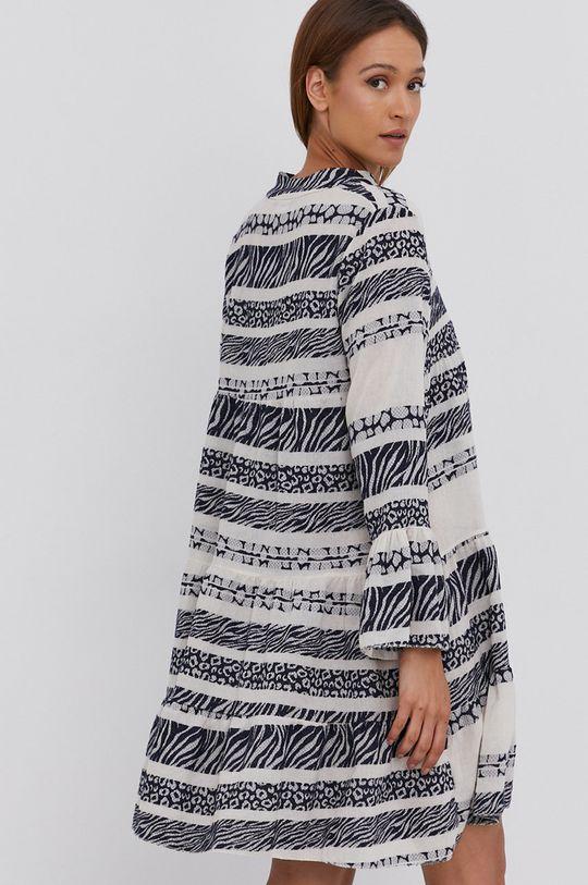 Answear Lab - Sukienka lniana Pure Linen  100 % Len