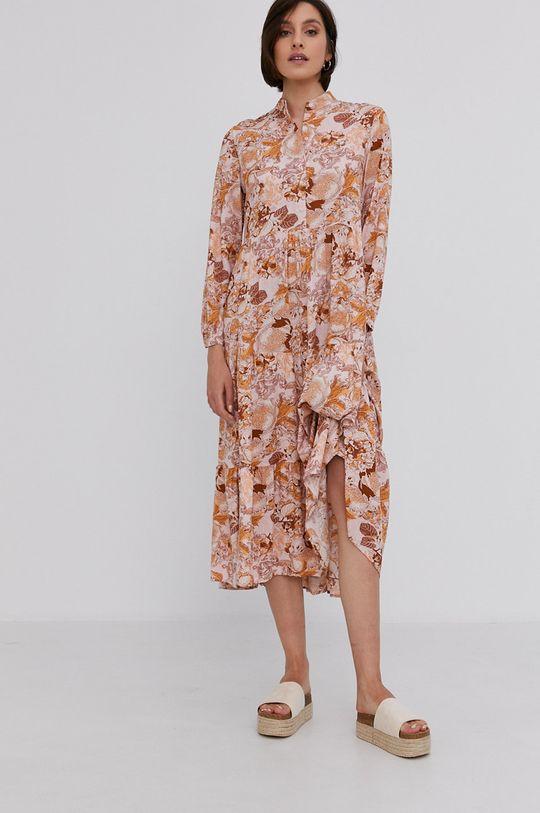 Answear Lab - Šaty ružová