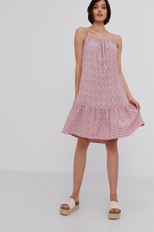 Answear Lab - Šaty starorůžová