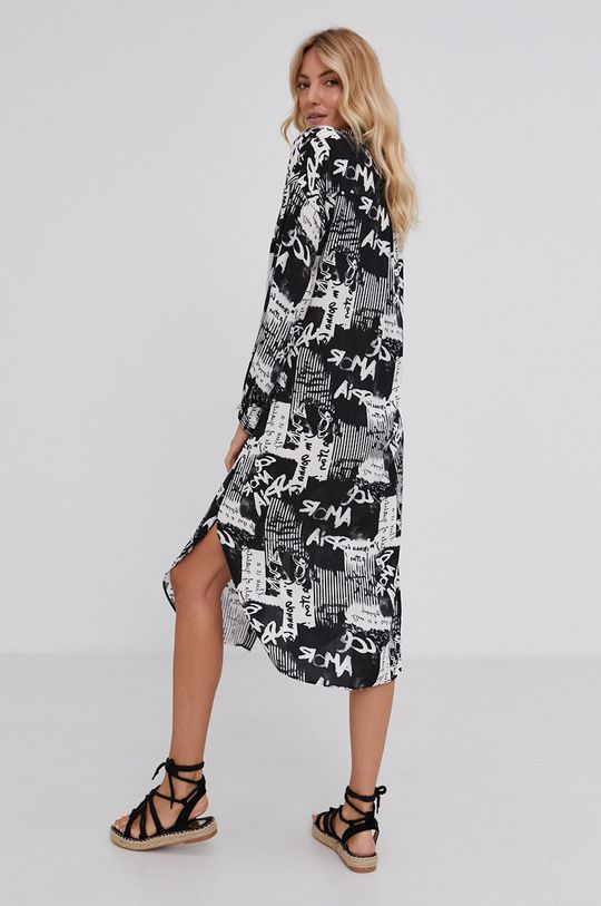 Answear Lab - Sukienka 100 % Wiskoza