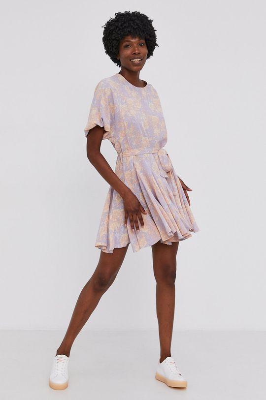 Answear Lab - Šaty levandulová