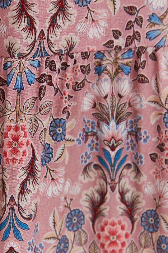 różowy Answear Lab - Sukienka