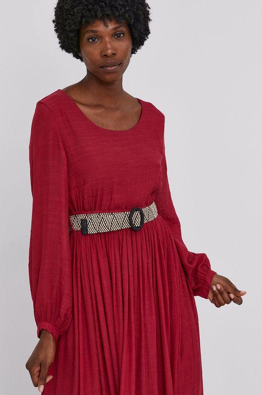kaštanová Answear Lab - Šaty